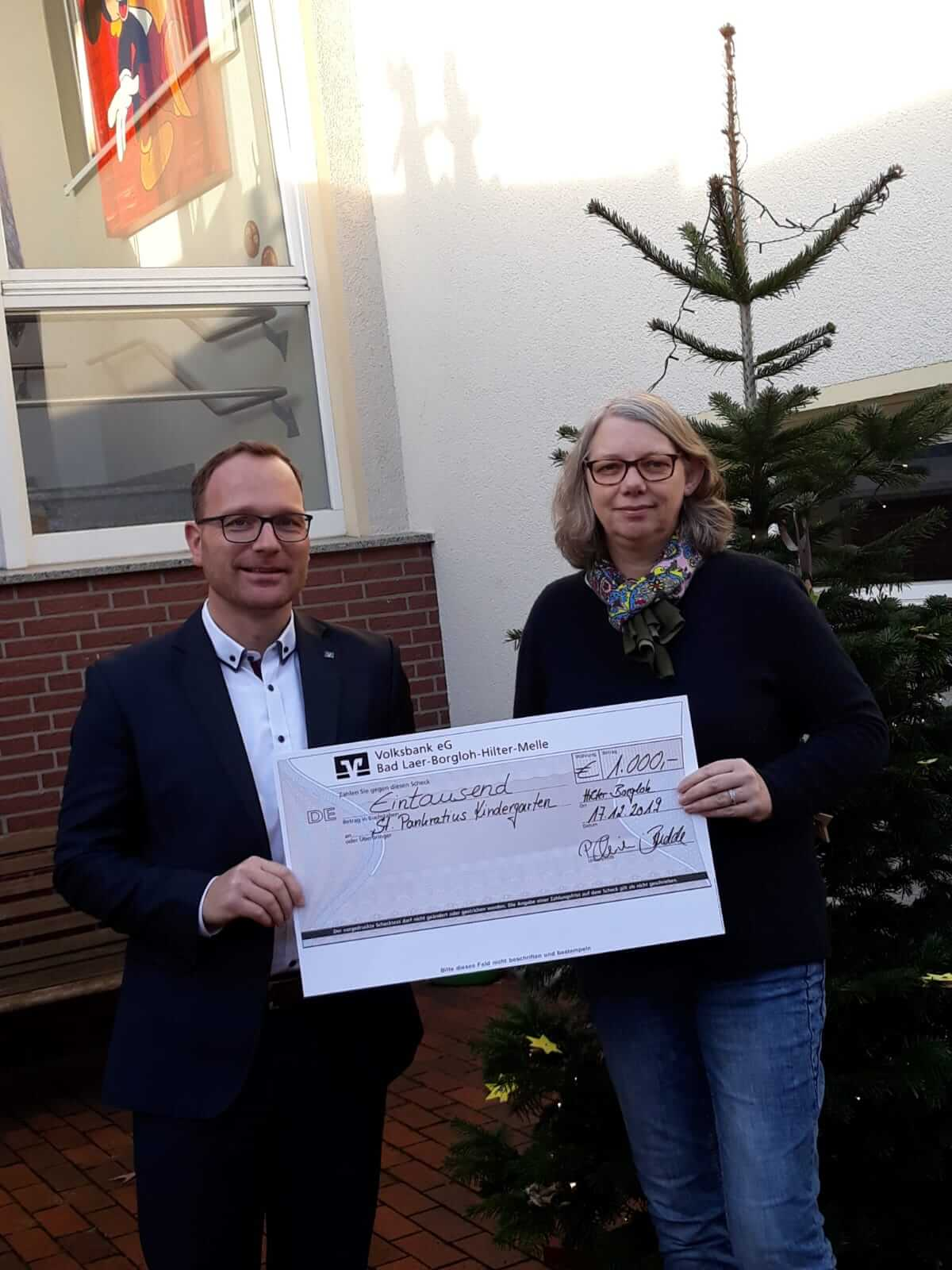 #Spende Volksbank-Spendenlauf